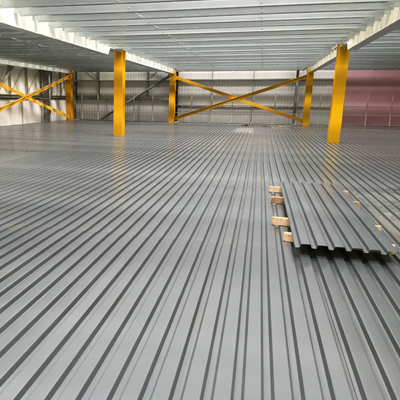 Corrugated Metal Deck Overview Image